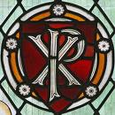 christogram-stained-glass