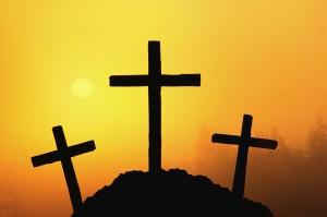 Cross silhouette HTR097
