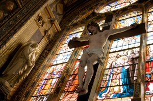 Saint Eustache Cathedral France CG4B