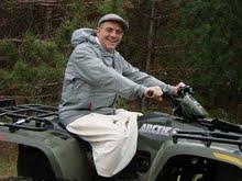 Br Stephen O Cist four-wheeler