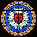 Luther Rose stained glass 2