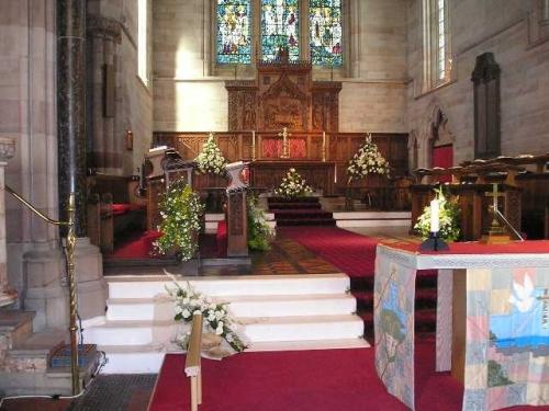 St Paul's Church Craig y Don main altar