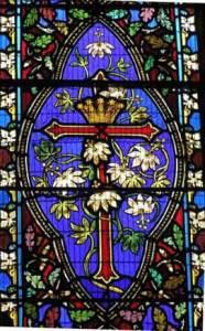 window_pfcross271w St Mary the Virgin Gillingham Dorset