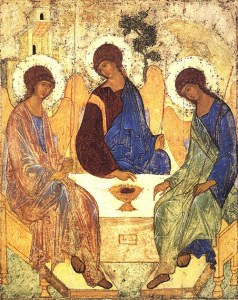 holy_trinity by st andrei rublev