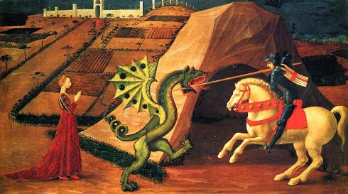 St George Paolo Uccello Musee Andre Jacquemart Paris