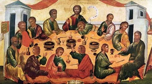 Last Supper Byzantine Museum San Giorgio Venice Byz-LastS-BR750 paradoxplace_com