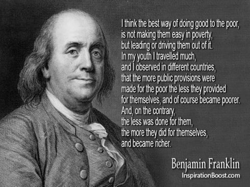 Benjamin Franklin on poverty Inspiration Boost Benjamin-Franklin-Famous-Quotes