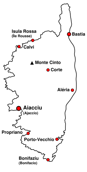 Corsica map Wikipedia 302px-Map_of_Corsica.svg