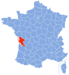 Charente Maritime Wikipedia Charente-Maritime-Position.svg